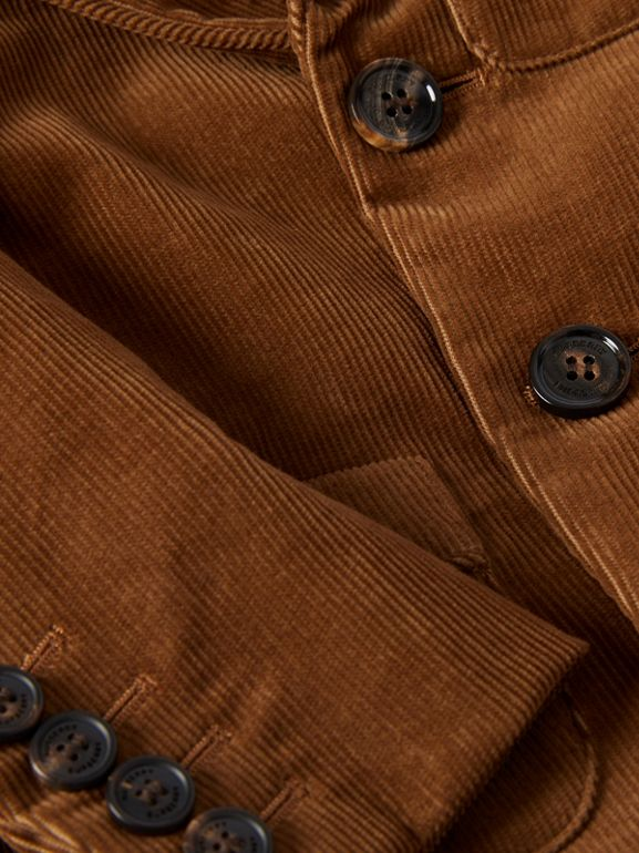Corduroy Blazer in Camel | Burberry - cell image 1