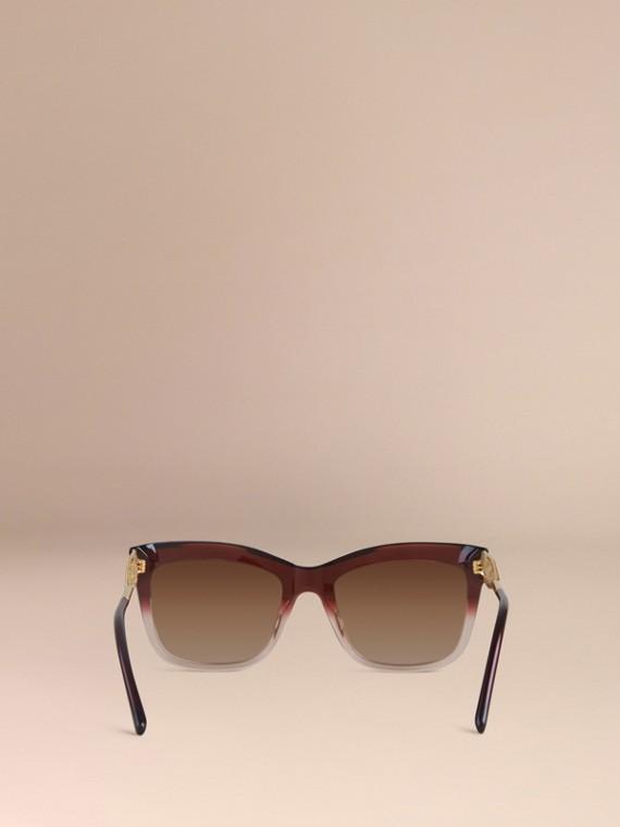 Темный армейский красный Солнцезащитные очки из коллекции Gabardine Lace Темный Армейский Красный - cell image 3