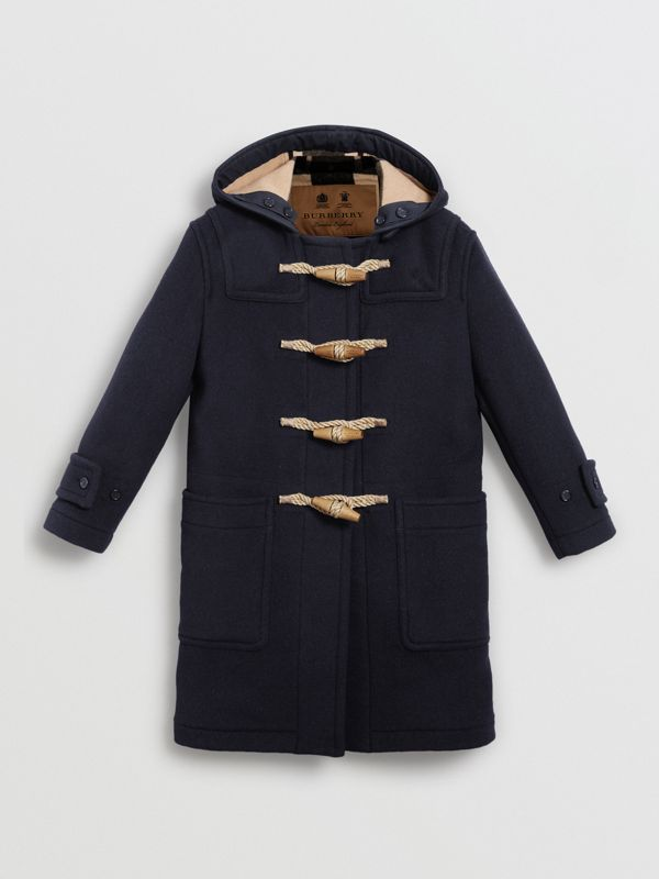 The Greenwich Duffle Coat in Navy - Women | Burberry Australia - cell image 3