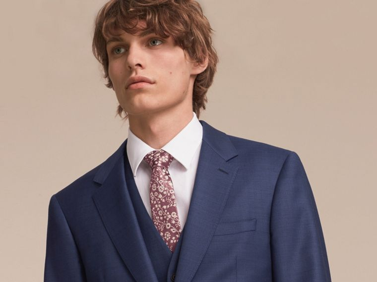 Modern Cut Floral Silk Jacquard Tie - Men | Burberry - cell image 2
