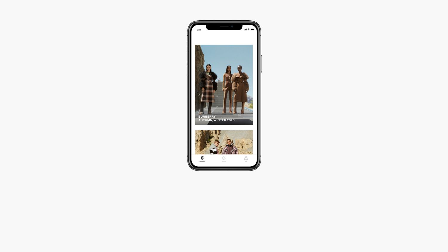 The Burberry App