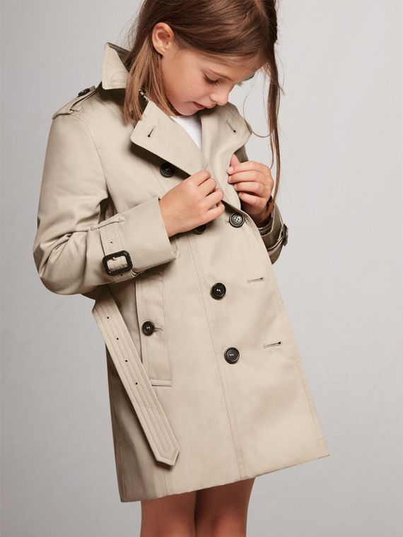 The Sandringham Trench Coat in Stone
