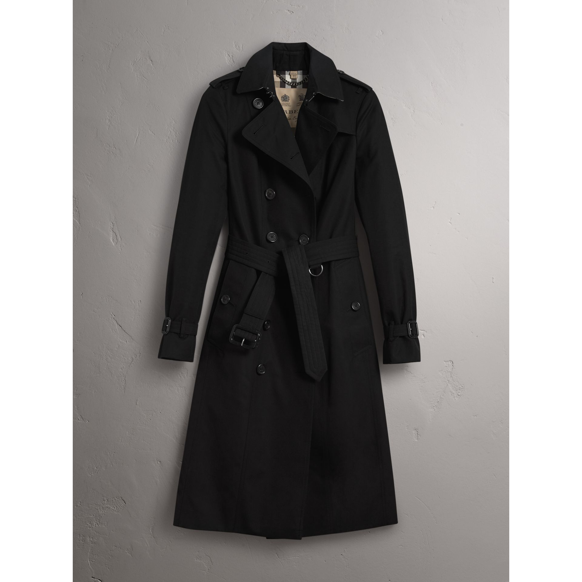 The Sandringham – Trench extra-long (Noir) - Femme | Burberry - photo de la galerie 3