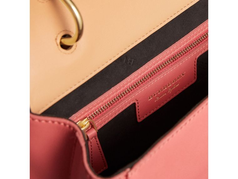 The Medium DK88 Top Handle Bag in Blossom Pink/pale Clementine - Women | Burberry Singapore - cell image 4