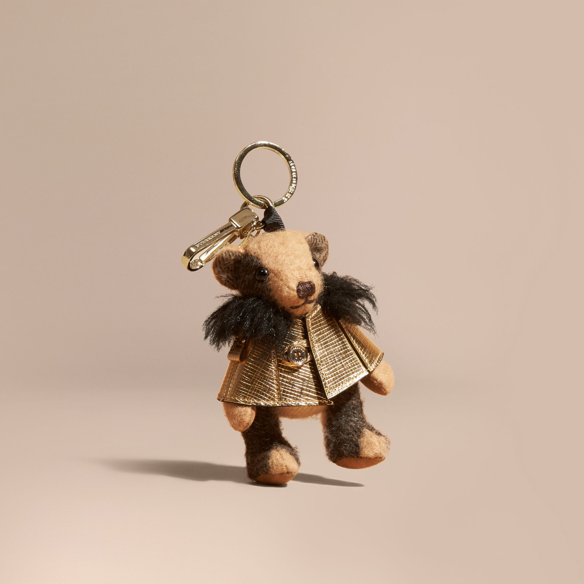 Thomas Bear Charm in Metallic Cape - gallery image 1
