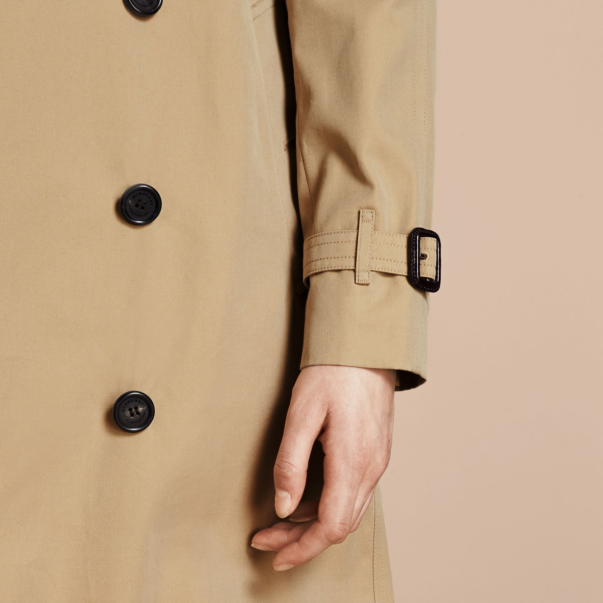 Honey The Westminster – Mid-Length Heritage Trench Coat Honey - gallery image 7