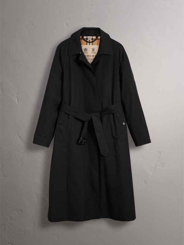 The Brighton Car Coat in Black - Women | Burberry United Kingdom - cell image 3