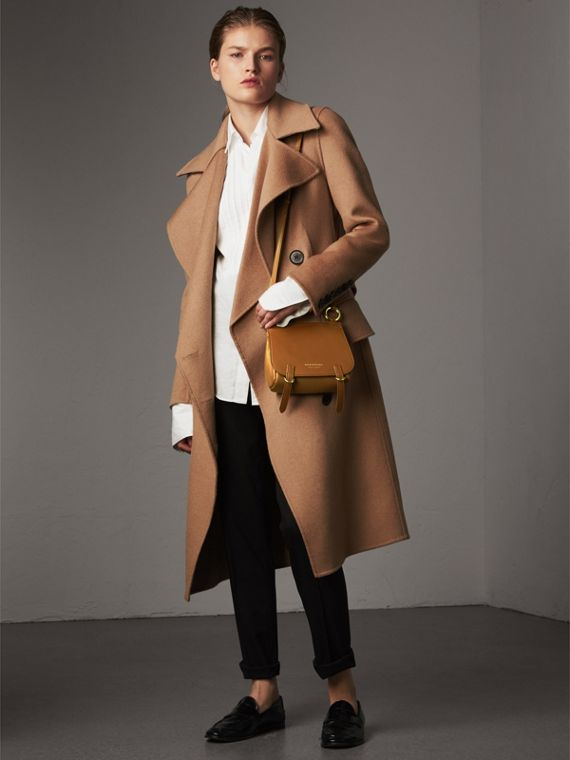 The Baby Bridle Bag in Leather in Tan - Women | Burberry - cell image 2