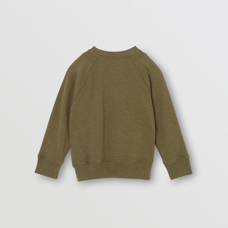 Burberry - Sweat-shirt en coton avec logo - 4