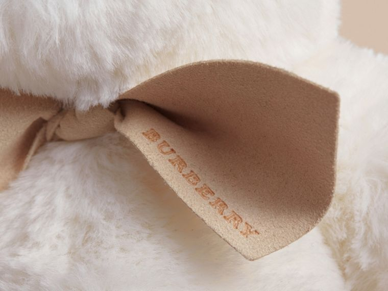Thomas Baby Bear mit Karodetail (Weiss) | Burberry - cell image 1