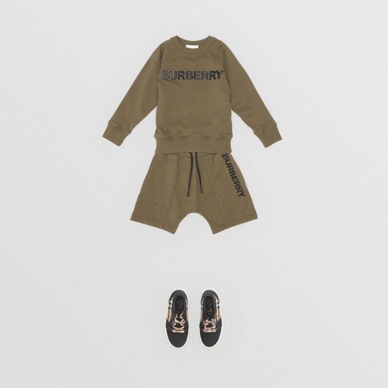 Burberry - Sweat-shirt en coton avec logo - 3