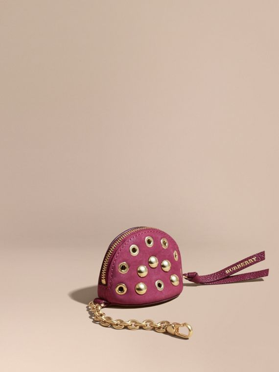 Studded Leather Coin Case