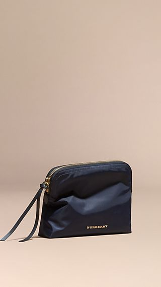 Zip-top Technical Nylon Pouch