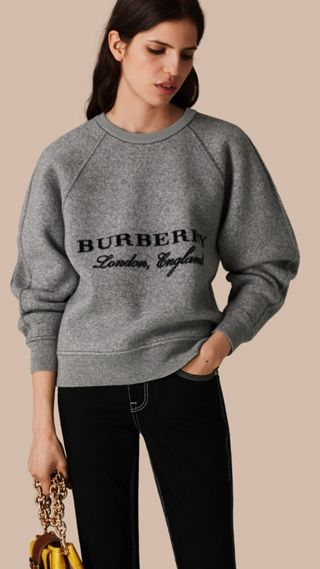 Wool Cashmere Sculpted Sweater