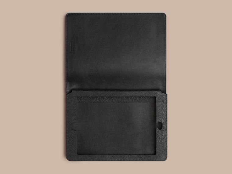Black Grainy Leather iPad Mini Case Black - cell image 2