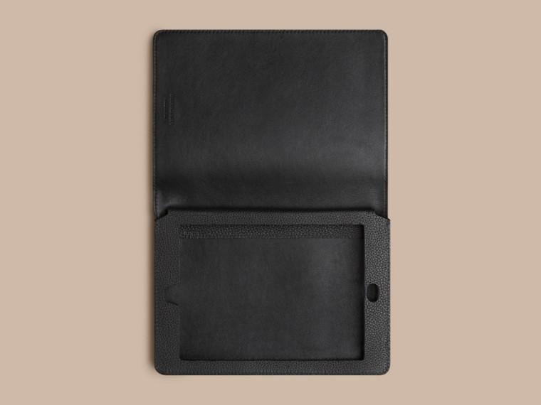 Nero Custodia per iPad mini in pelle a grana Nero - cell image 2