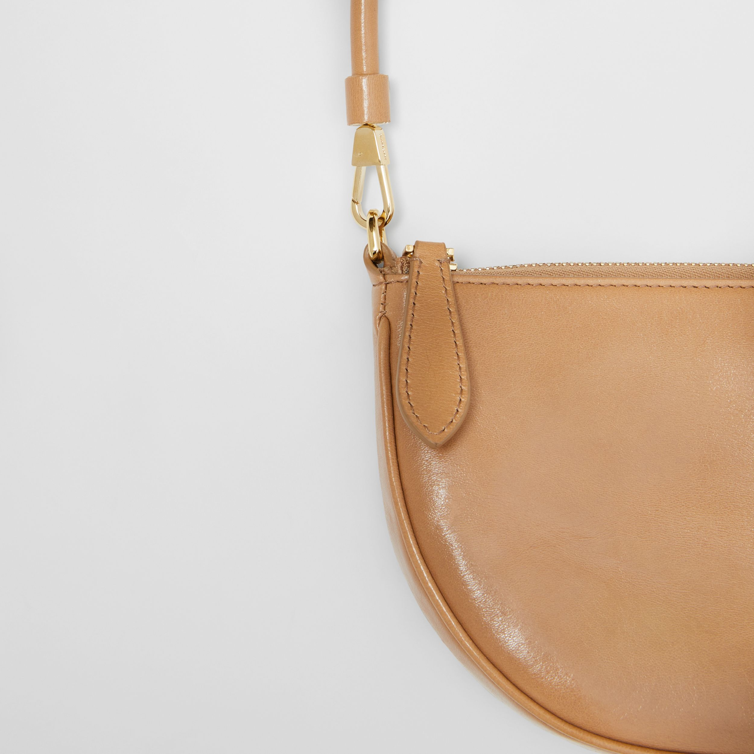 Lambskin Olympia Pouch in Modern Beige - Women | Burberry United States - 2
