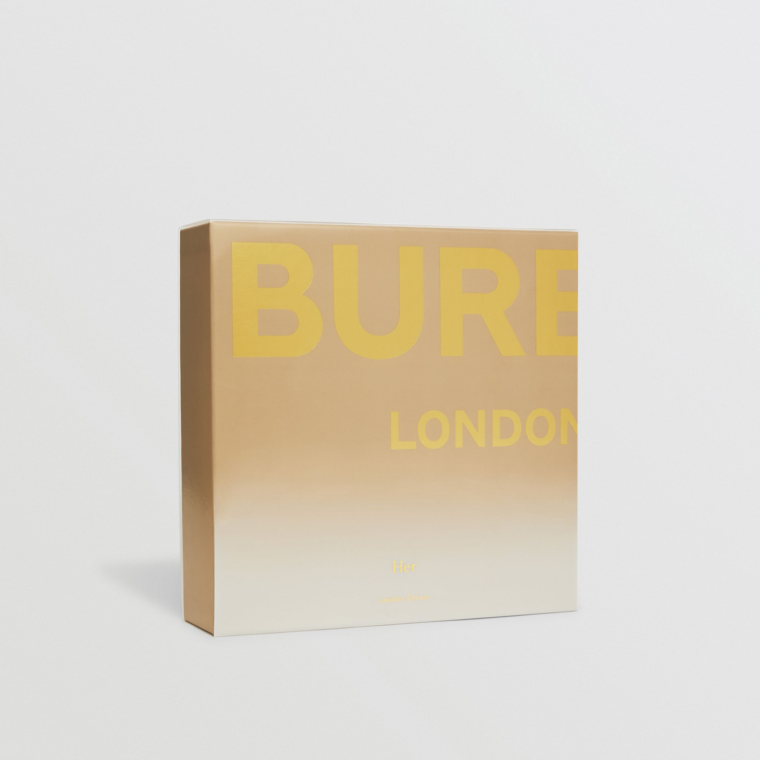 Her London Dream Eau de Parfum Gift Set in Honey - Women | Burberry - 3