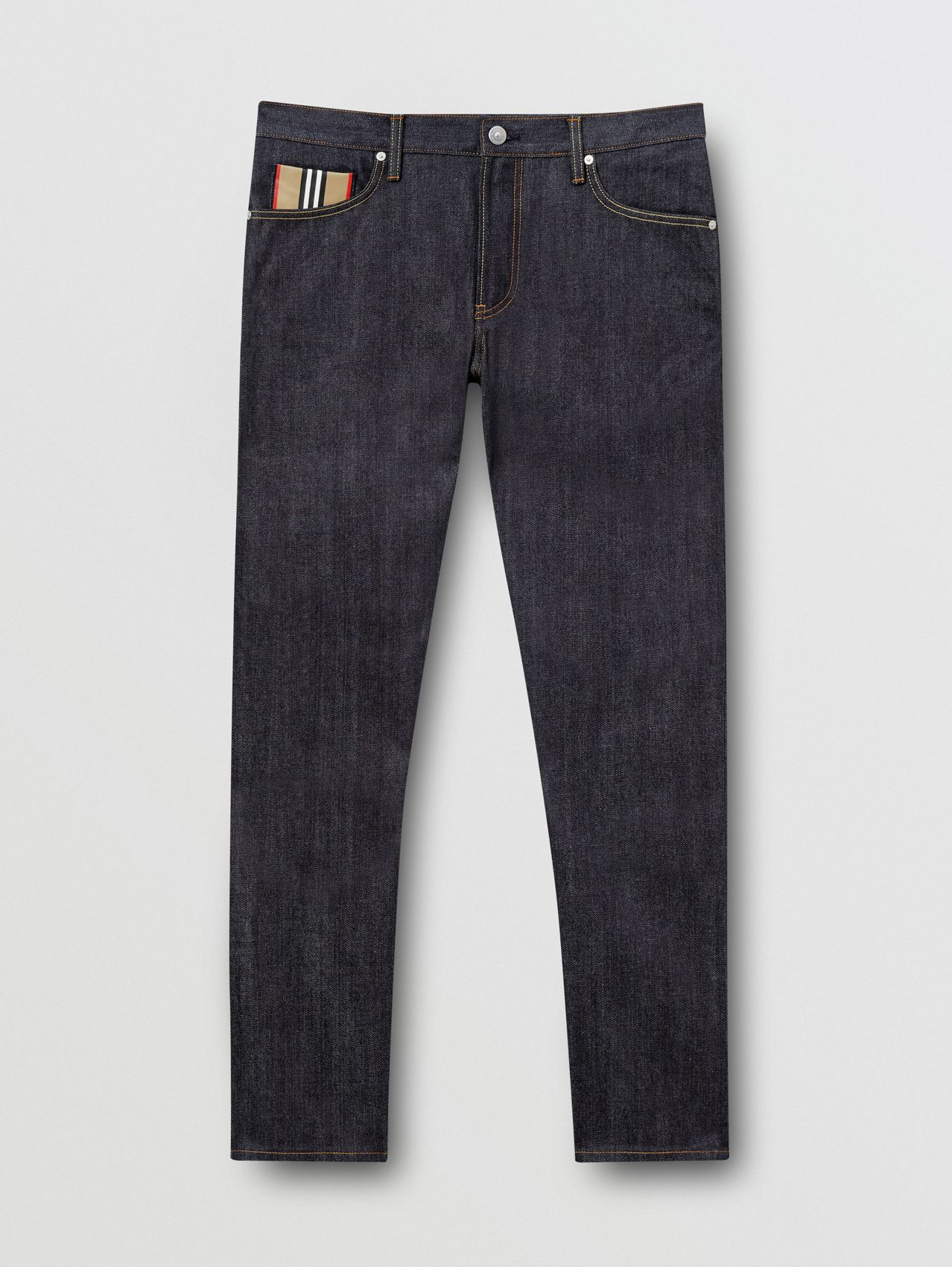 Straight Fit Raw Japanese Selvedge Denim Jeans