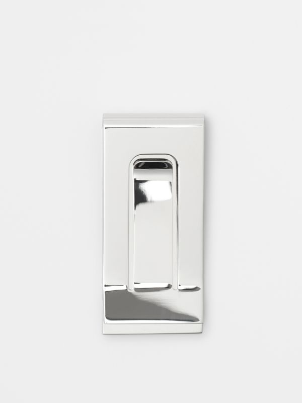 Brass Money Clip in Silver - Men | Burberry United States - cell image 2