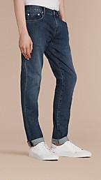 Slim Fit Japanese Denim Jeans