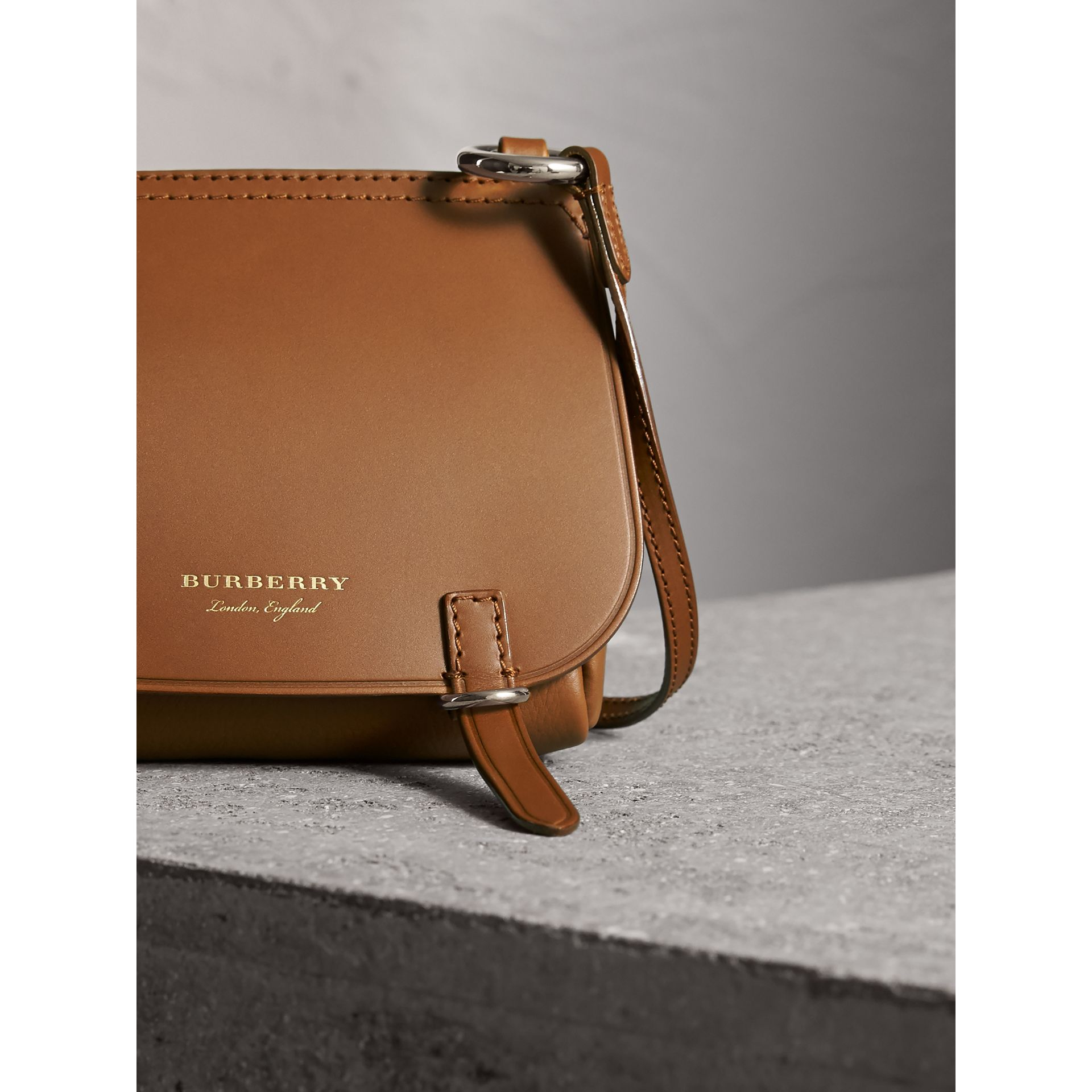 The Baby Bridle Bag in Leather in Tan - Women | Burberry - gallery image 6