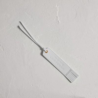 Embossed Leather Bookmark