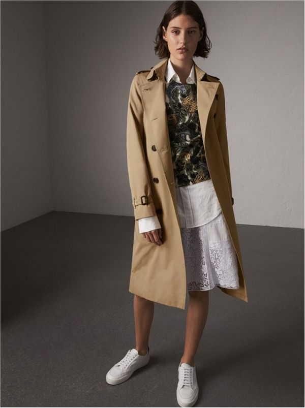 The Kensington - Trench coat Heritage extra longo