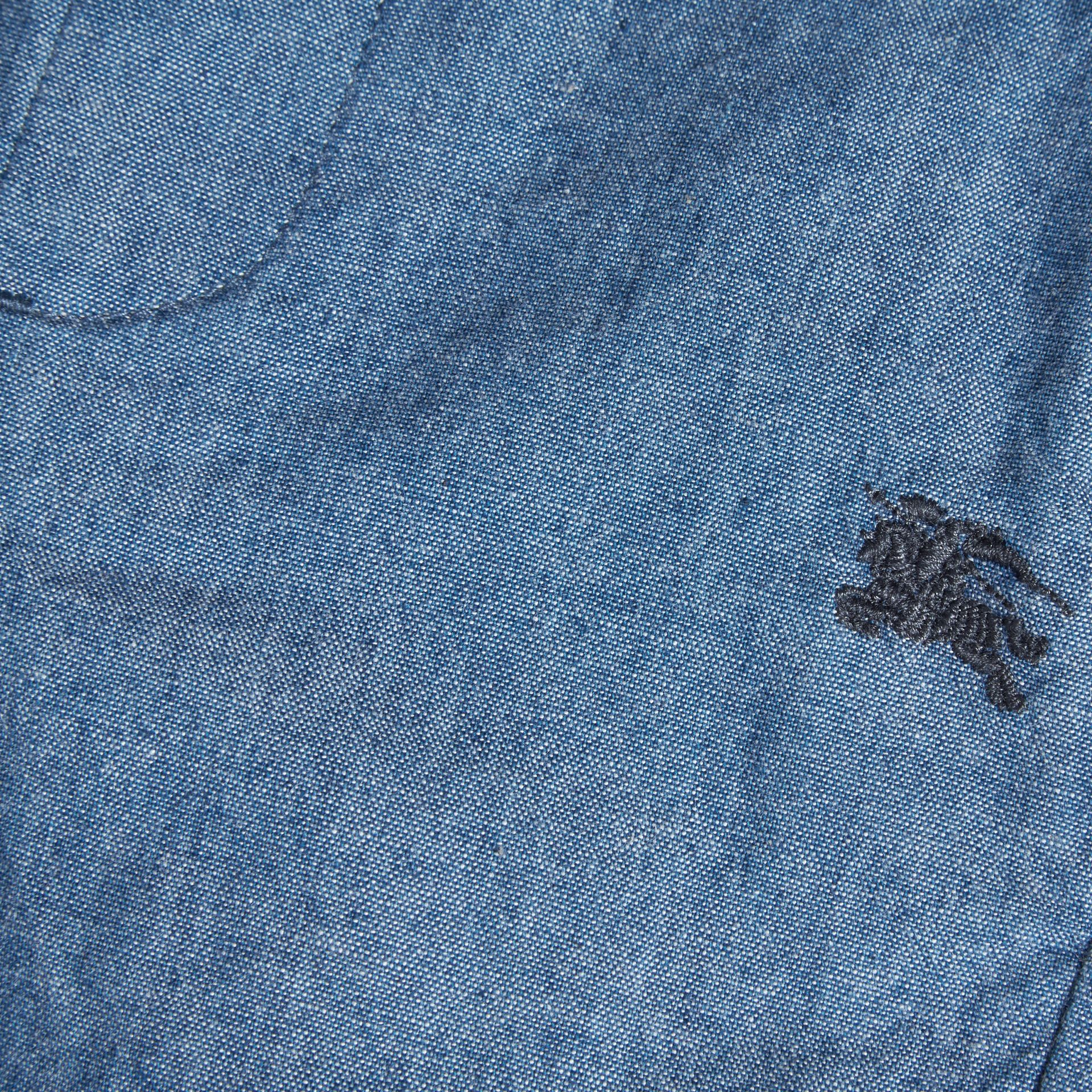 Cotton Chambray Shorts - gallery image 2
