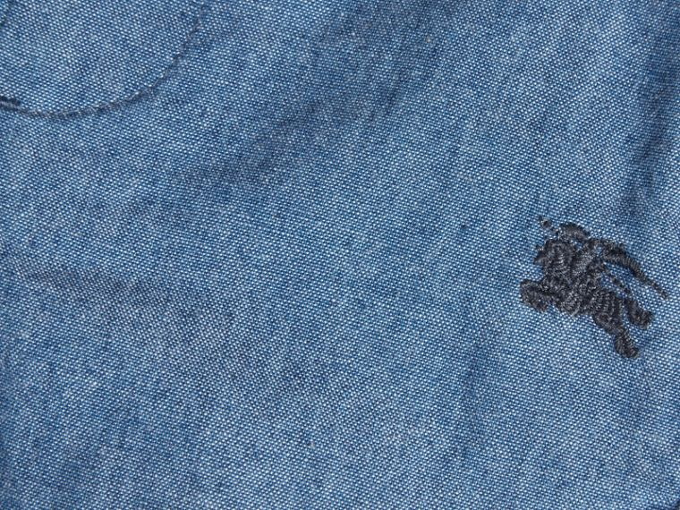 Cotton Chambray Shorts - cell image 1