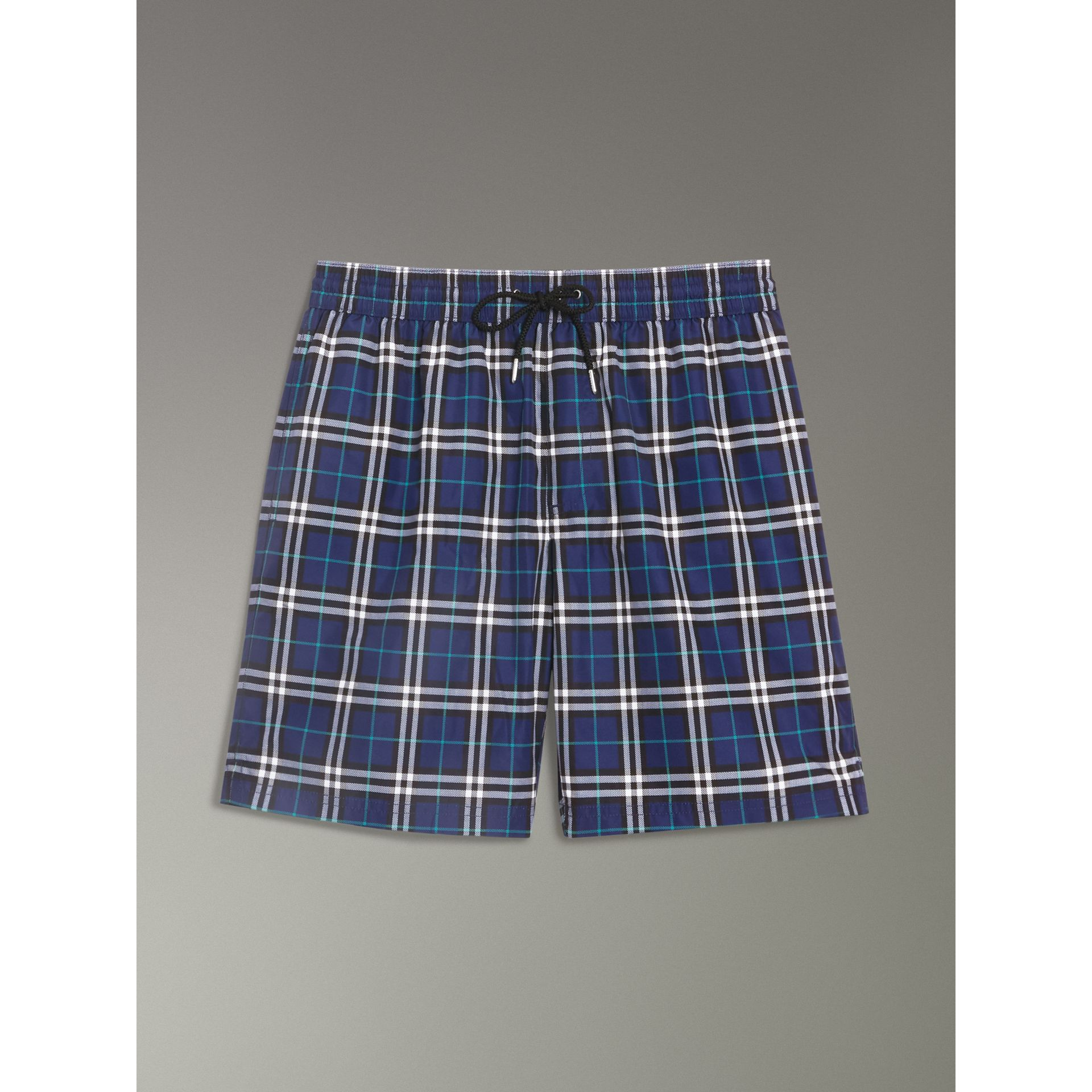 Drawcord Swim Shorts in Canvas Blue - Men | Burberry Hong Kong - gallery image 3