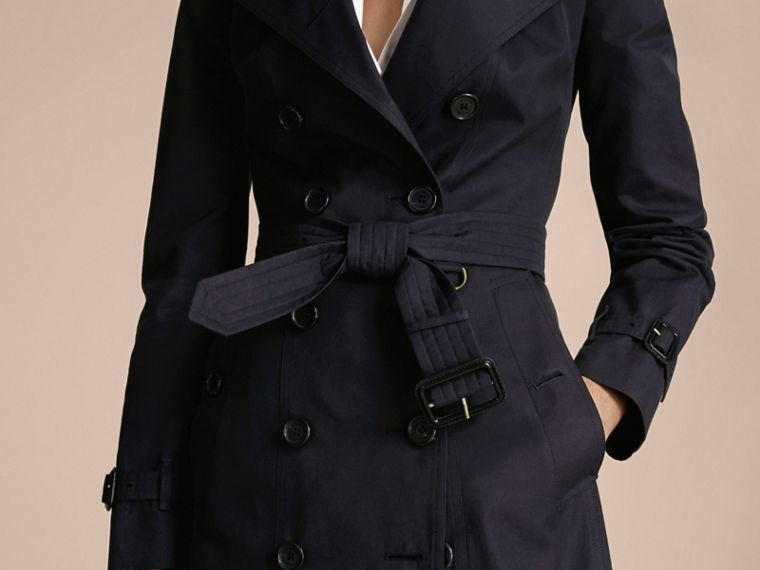 Navy The Sandringham - Trench coat Heritage lungo Navy - cell image 4
