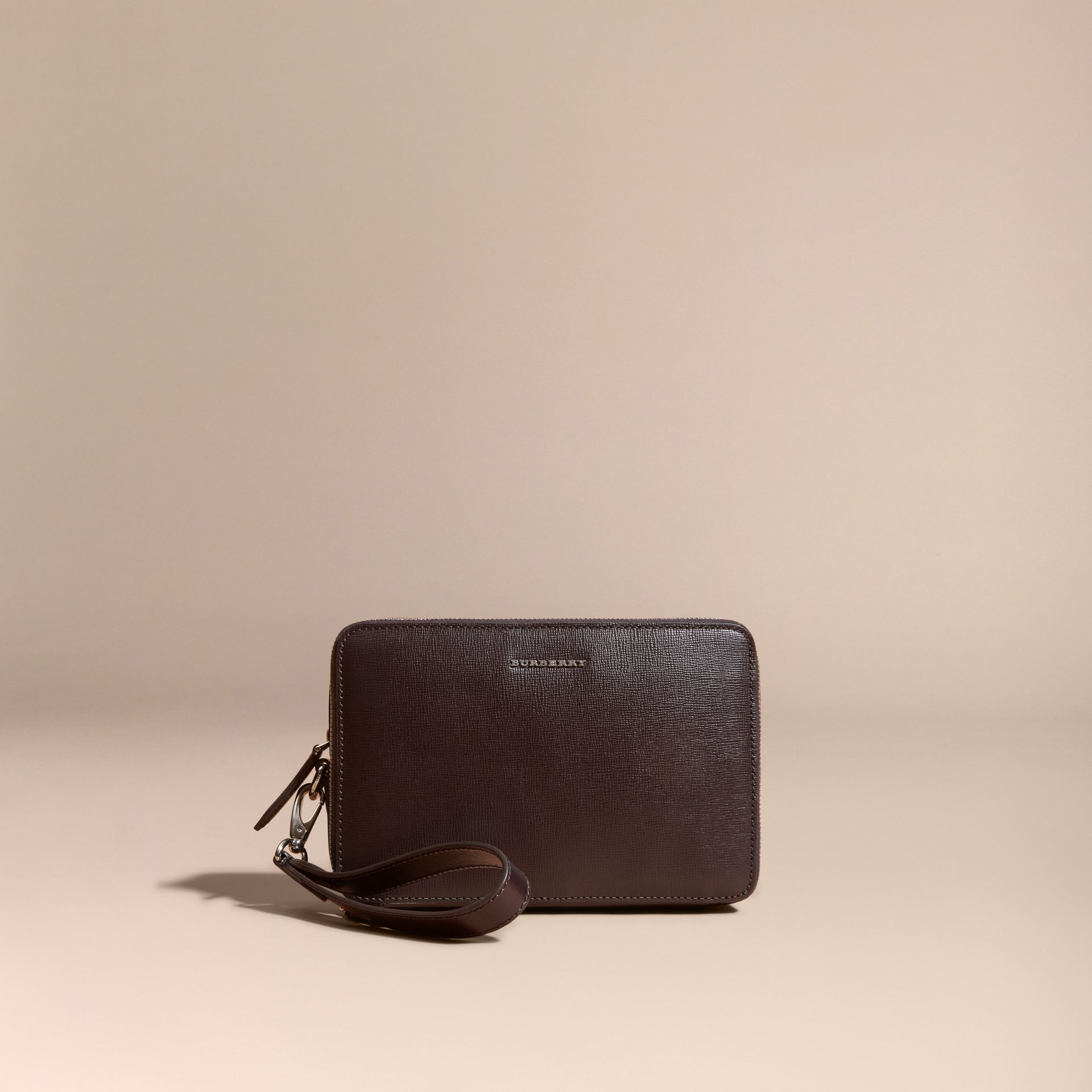 Wine London Leather Pouch - gallery image 6
