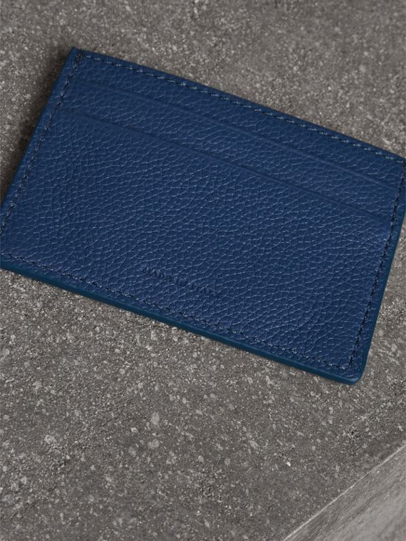 Grainy Leather Card Case in Bright Ultramarine | Burberry Hong Kong - cell image 2