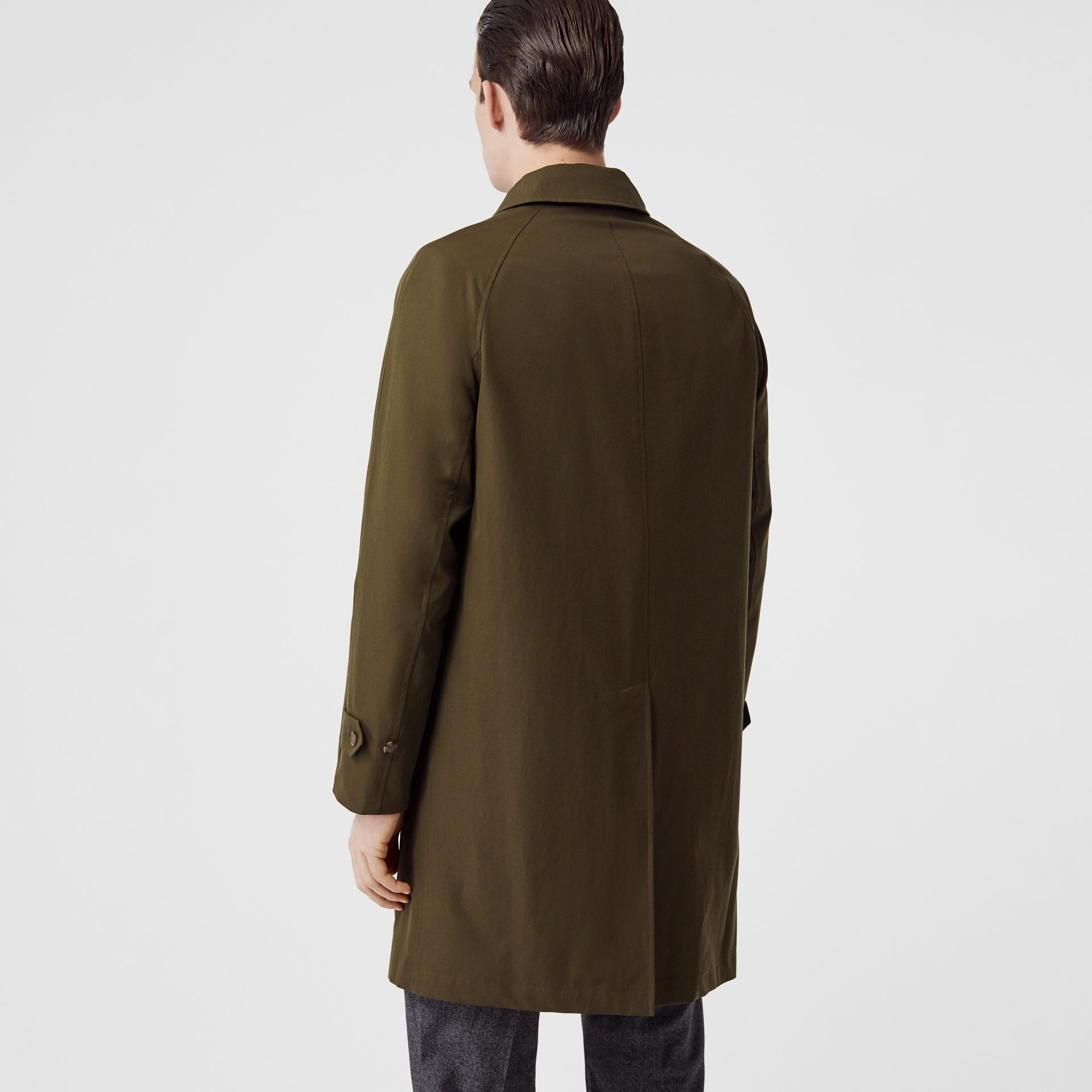 The Camden Car Coat in Dark Military Khaki - Men | Burberry Australia - gallery image 2
