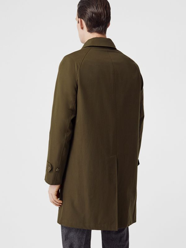 The Camden Car Coat in Dark Military Khaki - Men | Burberry Australia - cell image 2