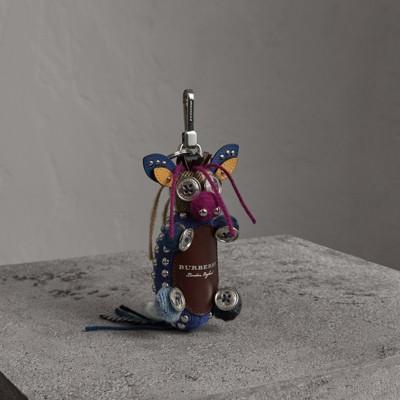 Mabel The Donkey Wool Charm - Blue Burberry Mxh6hXG9