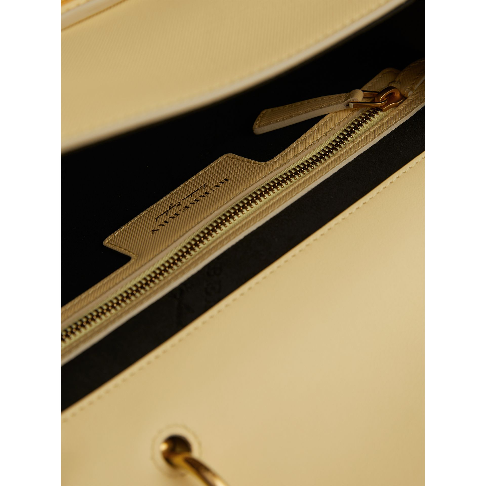 The Medium DK88 Top Handle Bag in Camomile Yellow - Women | Burberry Australia - gallery image 6