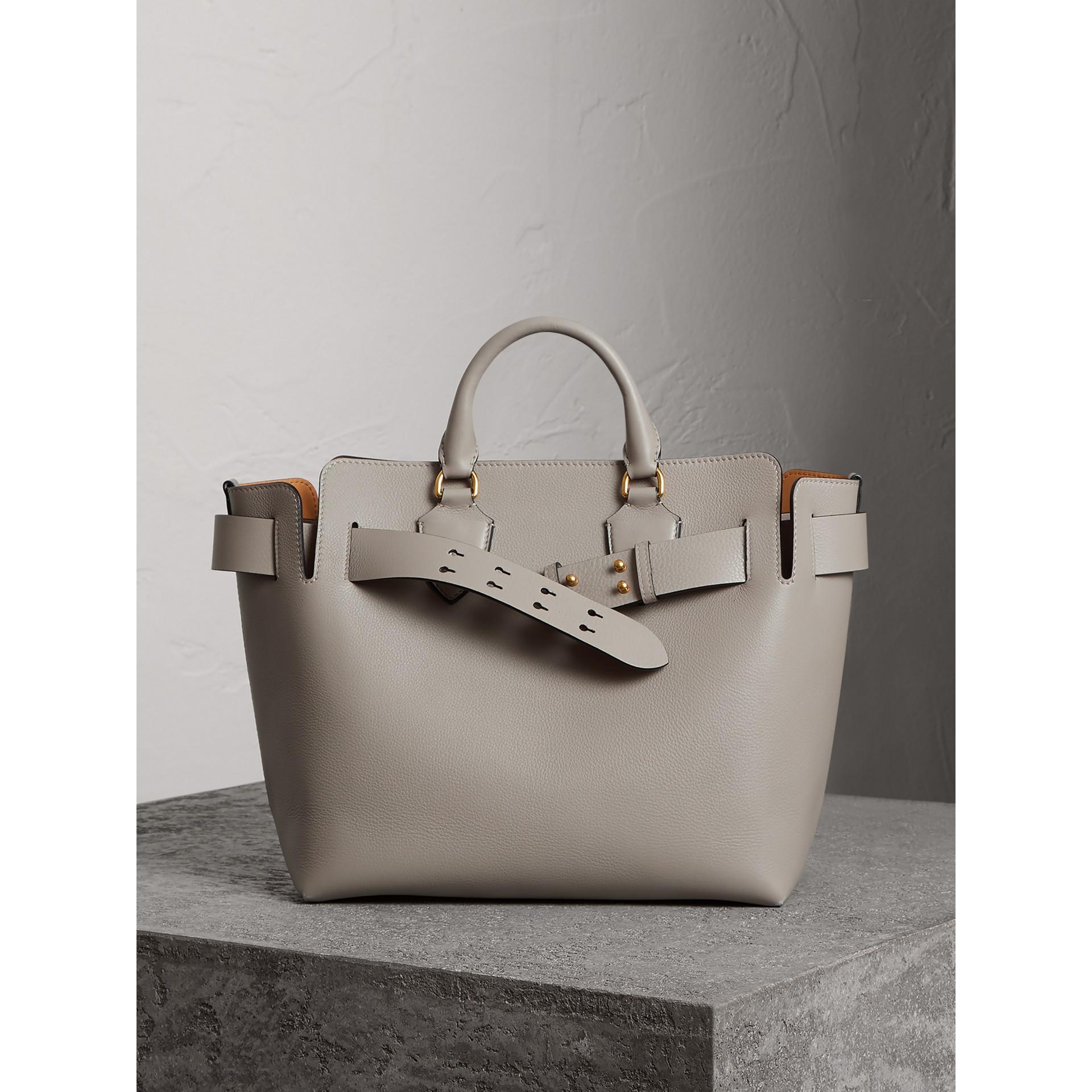 Bolsa Belt em couro - Média (Cinza Mineral) - Mulheres | Burberry - galeria de imagens 6