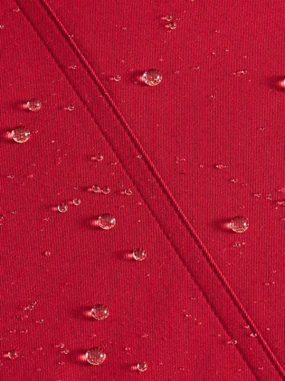 Parade red The Chelsea – Short Heritage Trench Coat Parade Red - cell image 2