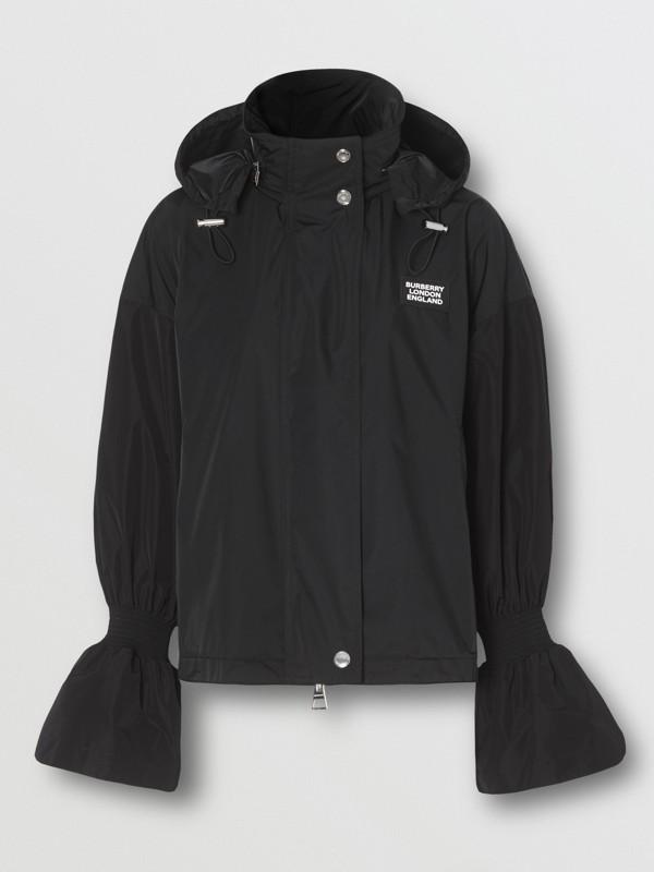 Packaway Hood Bio-based Nylon Jacket in Black - Women | Burberry - cell image 3