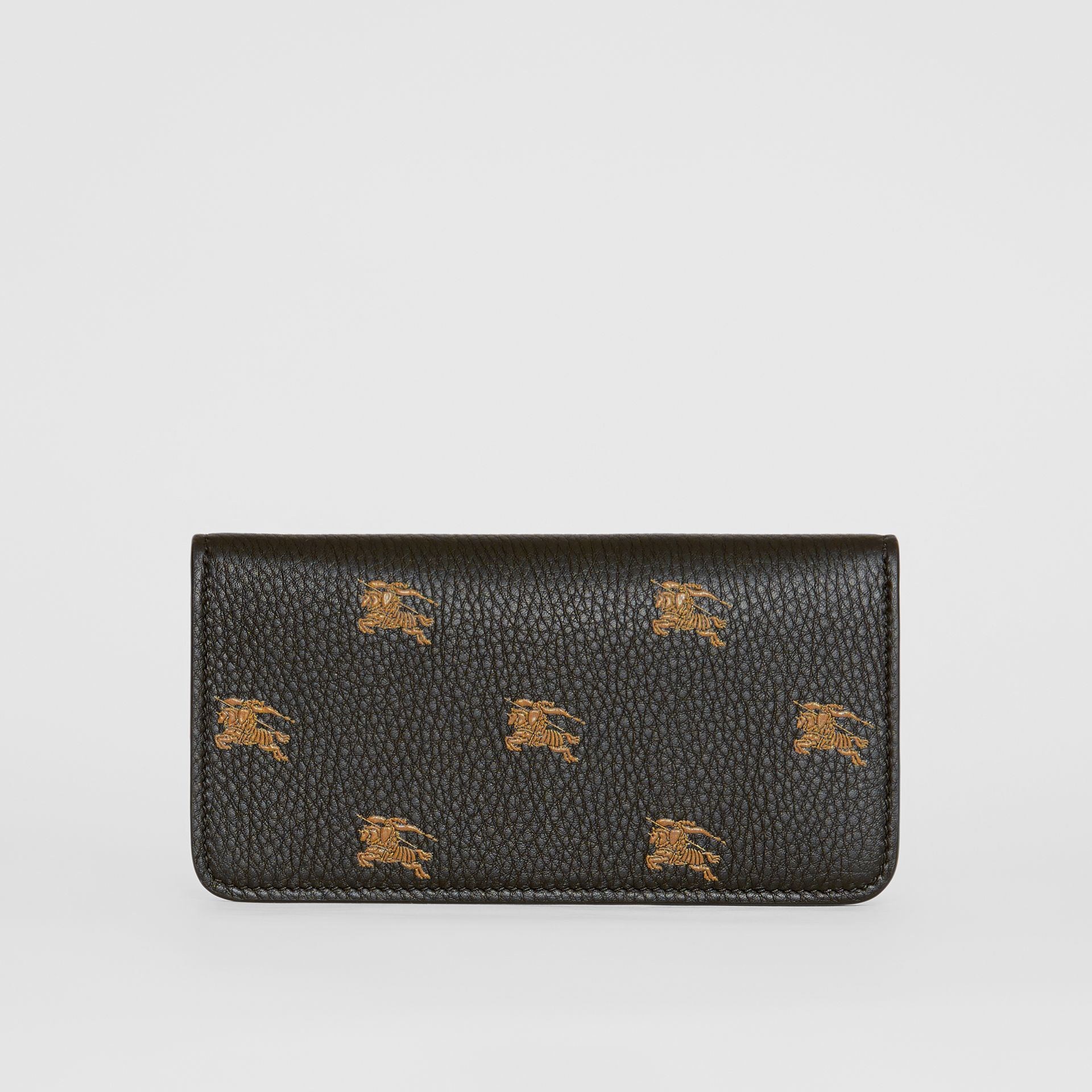 EKD Leather Phone Wallet in Black - Women | Burberry Australia - gallery image 5