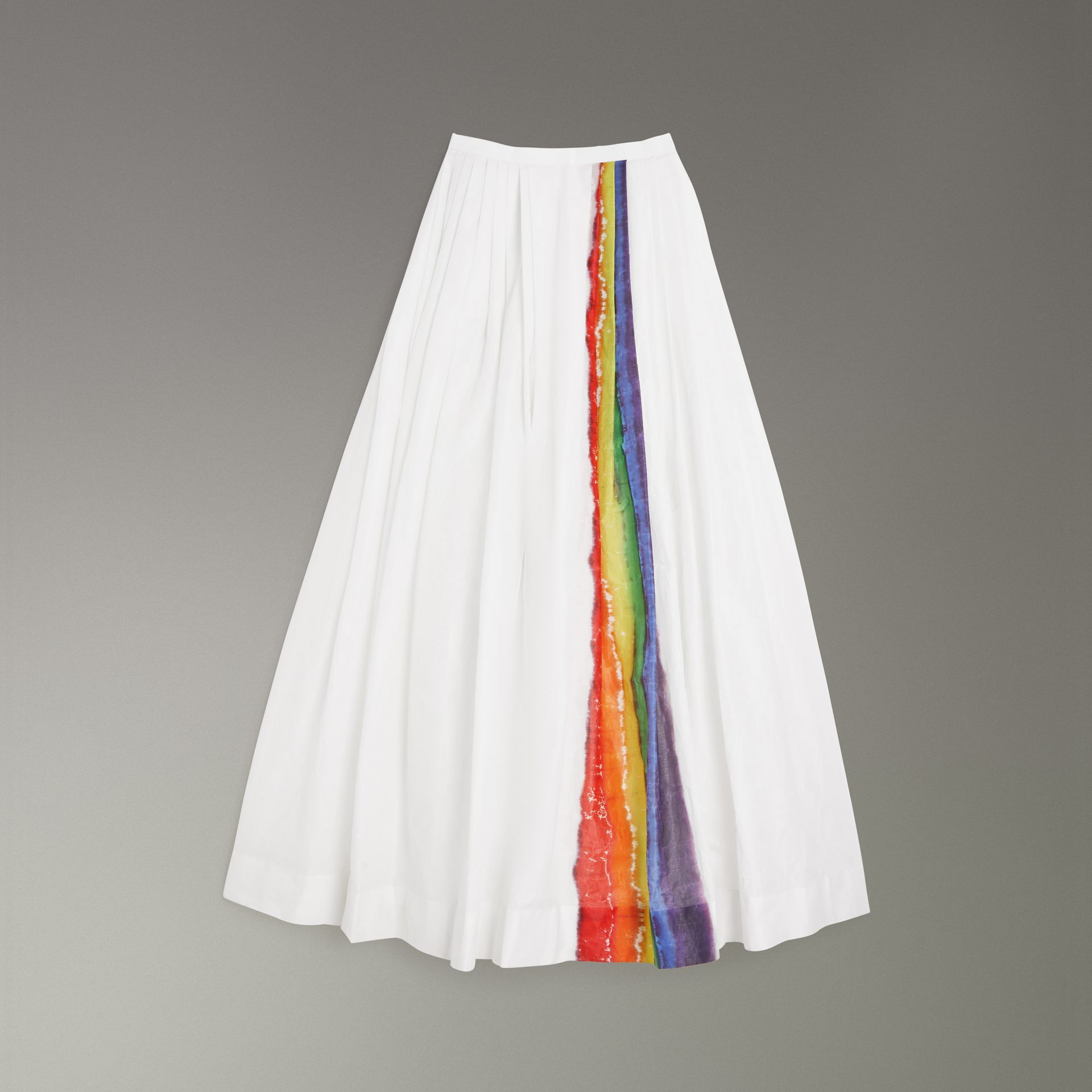 Rainbow Stripe Maxi Skirt - Women | Burberry Hong Kong - gallery image 3