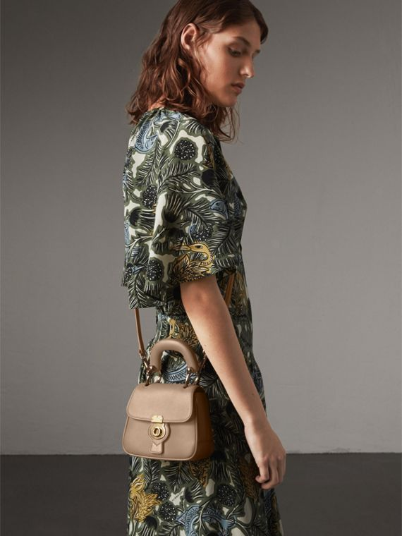 The Mini DK88 Top Handle Bag in Honey - Women | Burberry - cell image 2