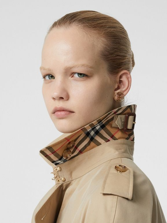 The Waterloo Trench Coat in Honey - Women | Burberry - cell image 1