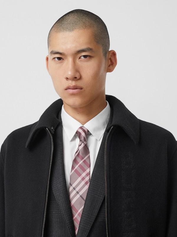 Классический галстук в клетку Vintage Check (Розовый Мел) - Для мужчин | Burberry - cell image 2