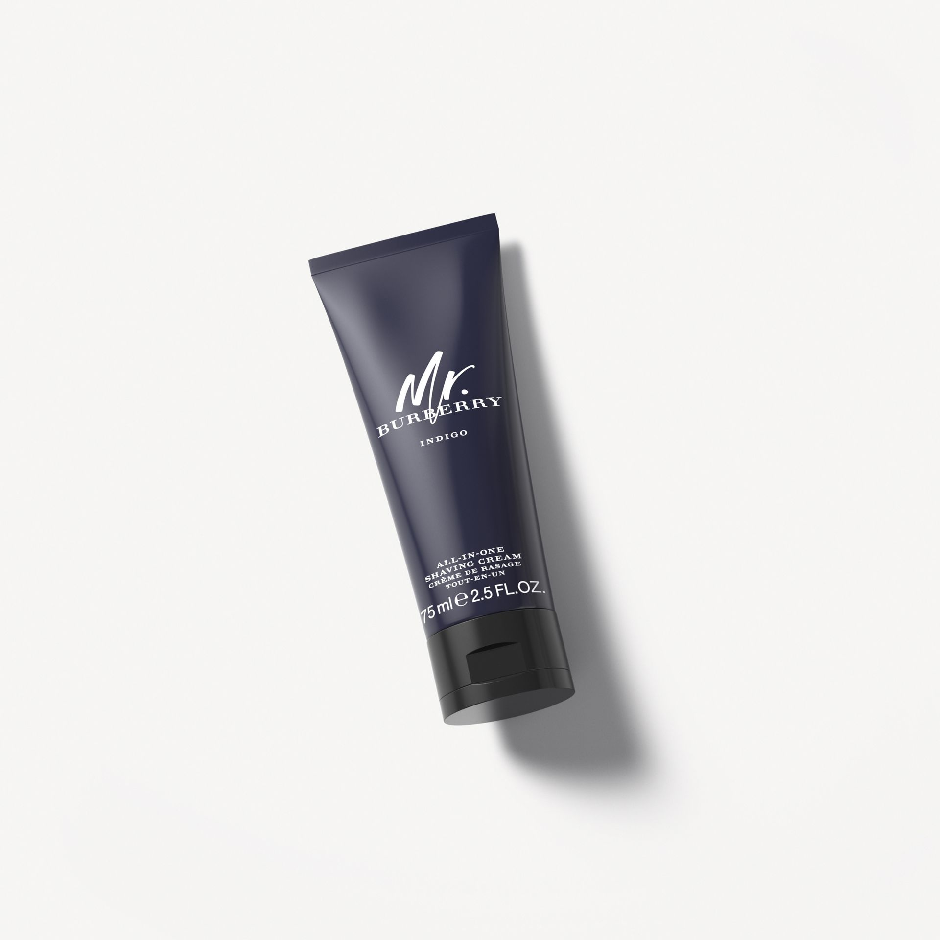 Mr. Burberry Indigo All-In-One Shaving Cream 75ml - Men | Burberry - gallery image 0