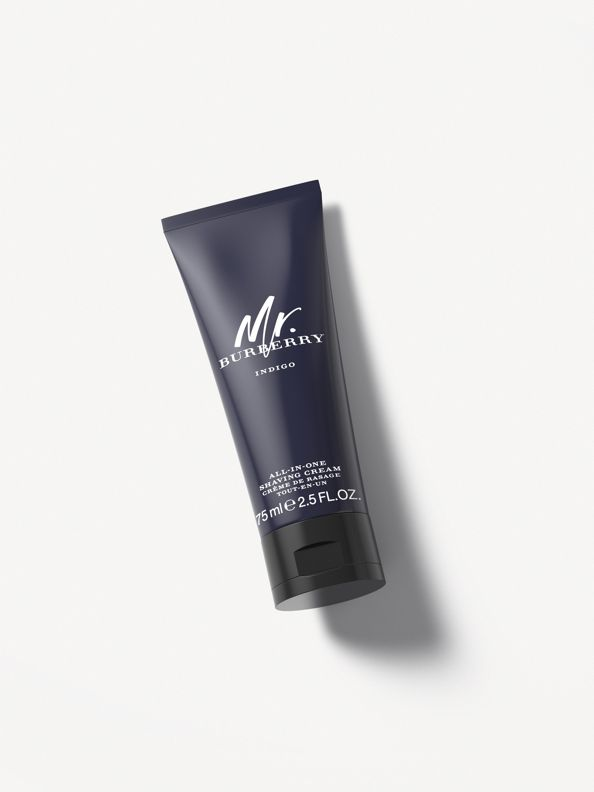 Mr. Burberry Indigo All-In-One Shaving Cream 75 ml