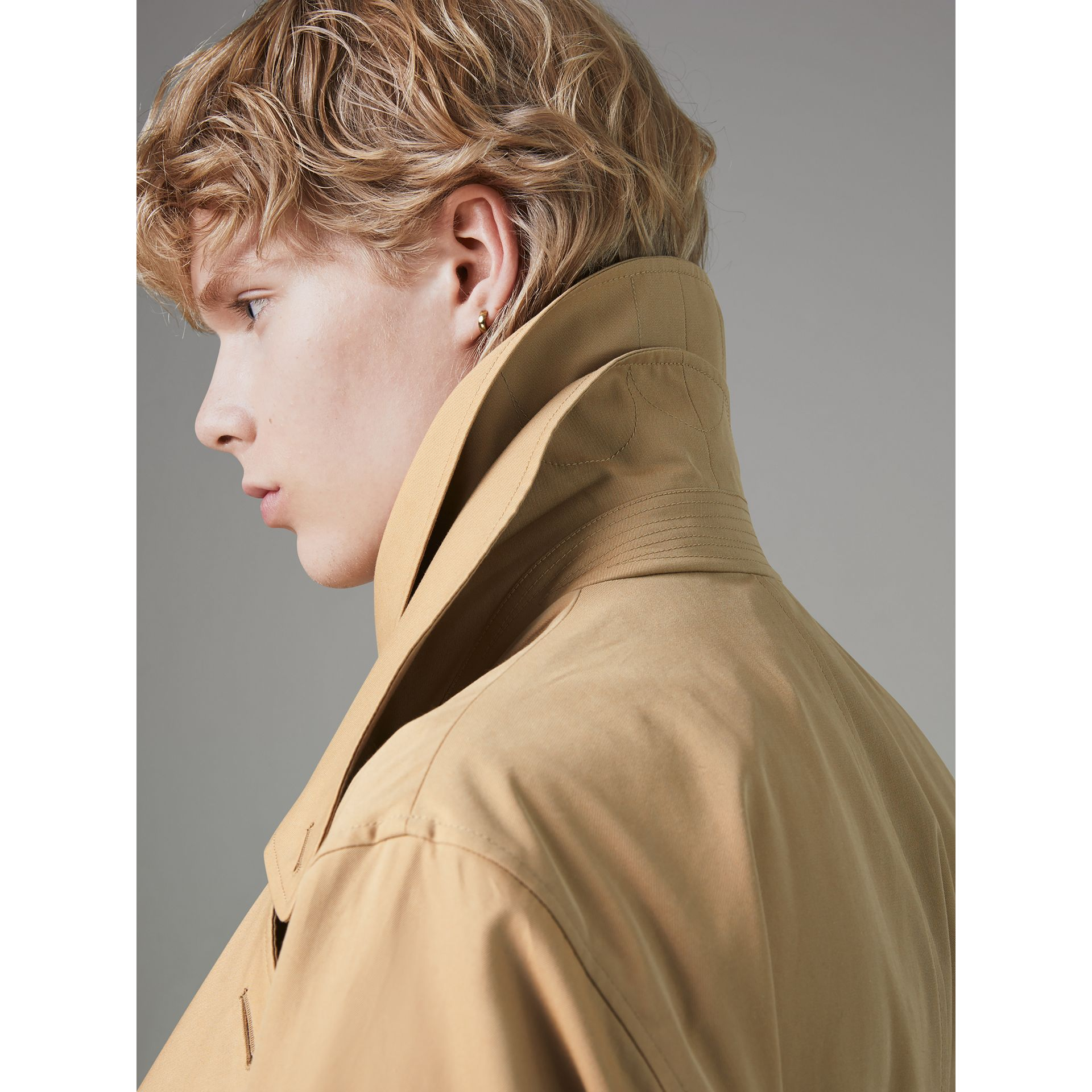 Gosha x Burberry Reconstructed Trench Coat in Honey | Burberry Singapore - gallery image 4