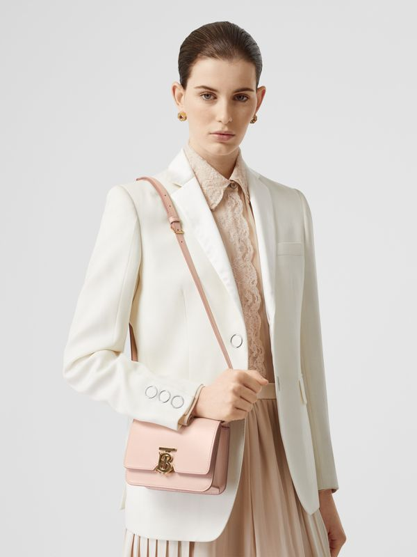 Mini Leather TB Bag in Rose Beige - Women | Burberry - cell image 2